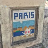 Street-Art Paris Pixel